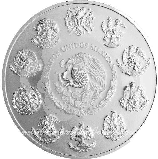 Monedas de plata m xico moneda de plata libertad 2015 1 oz - Cuberterias de plata precios ...