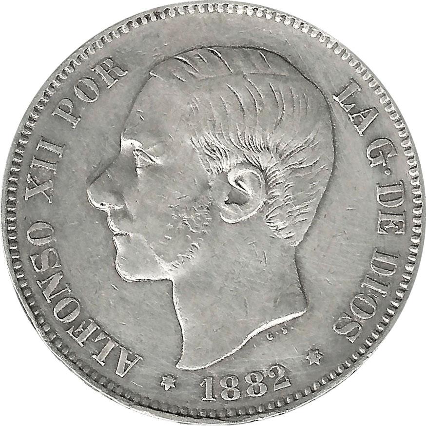 Monedas De Plata Espa A Moneda 5 Pesetas De Plata Varios