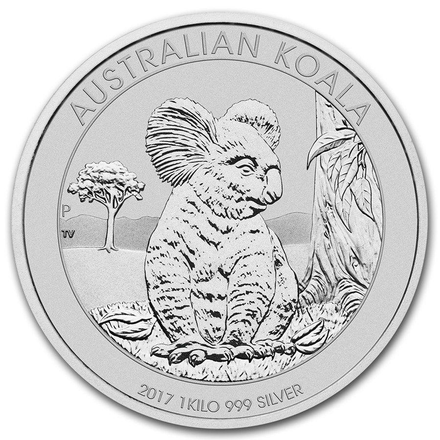 Moneda De Plata Koala 2017 1 Kg