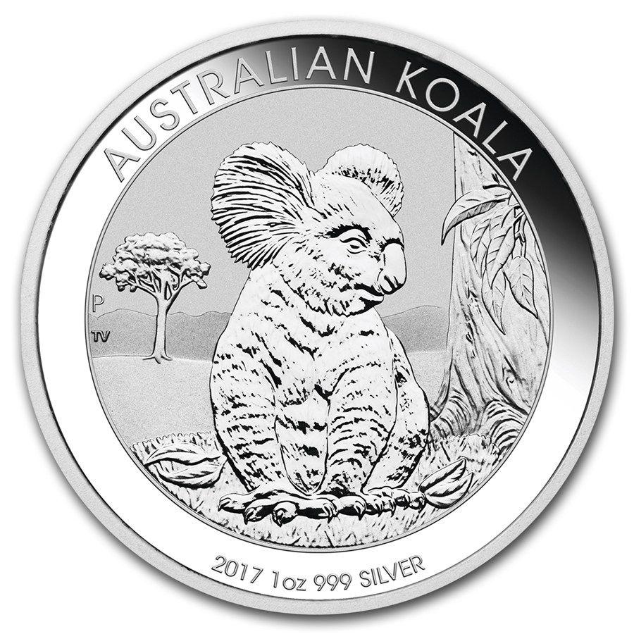 Moneda De Plata Koala 2017 1 Oz