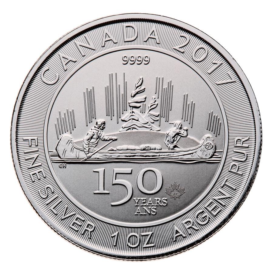 Monedas De Plata Canad 225 Moneda De Plata 150 Aniversario