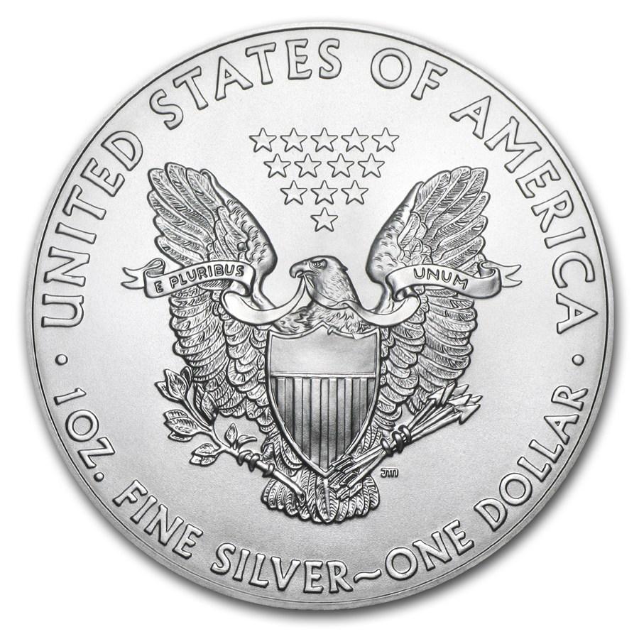 Productos De Plata Moneda De Plata American Eagle 2018 1 Oz
