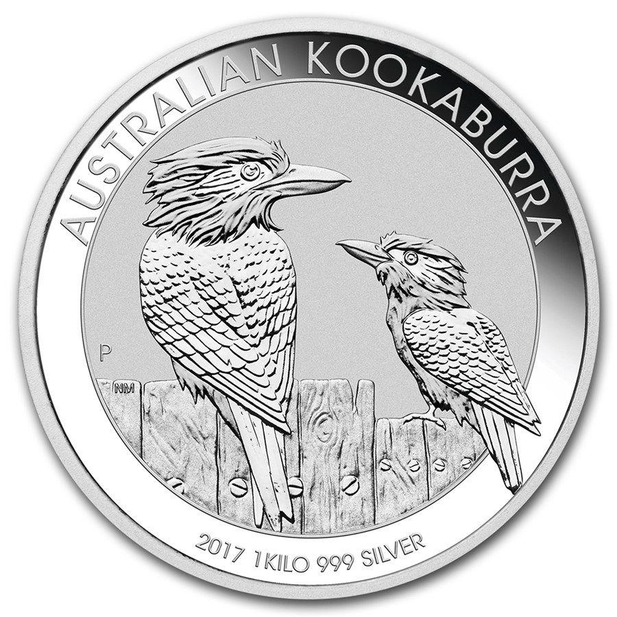Moneda De Plata Kookaburra 2017 1 Kg