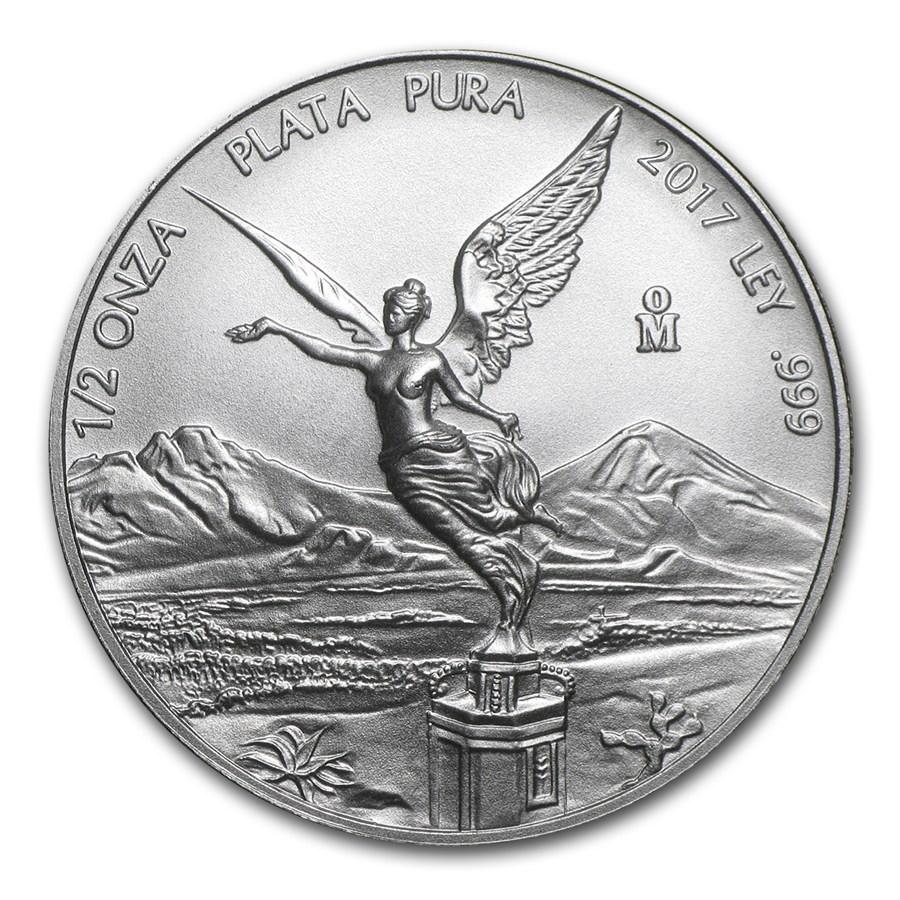 d0c39c6ccc64 Moneda de Plata Libertad de México 2017 1 2 oz