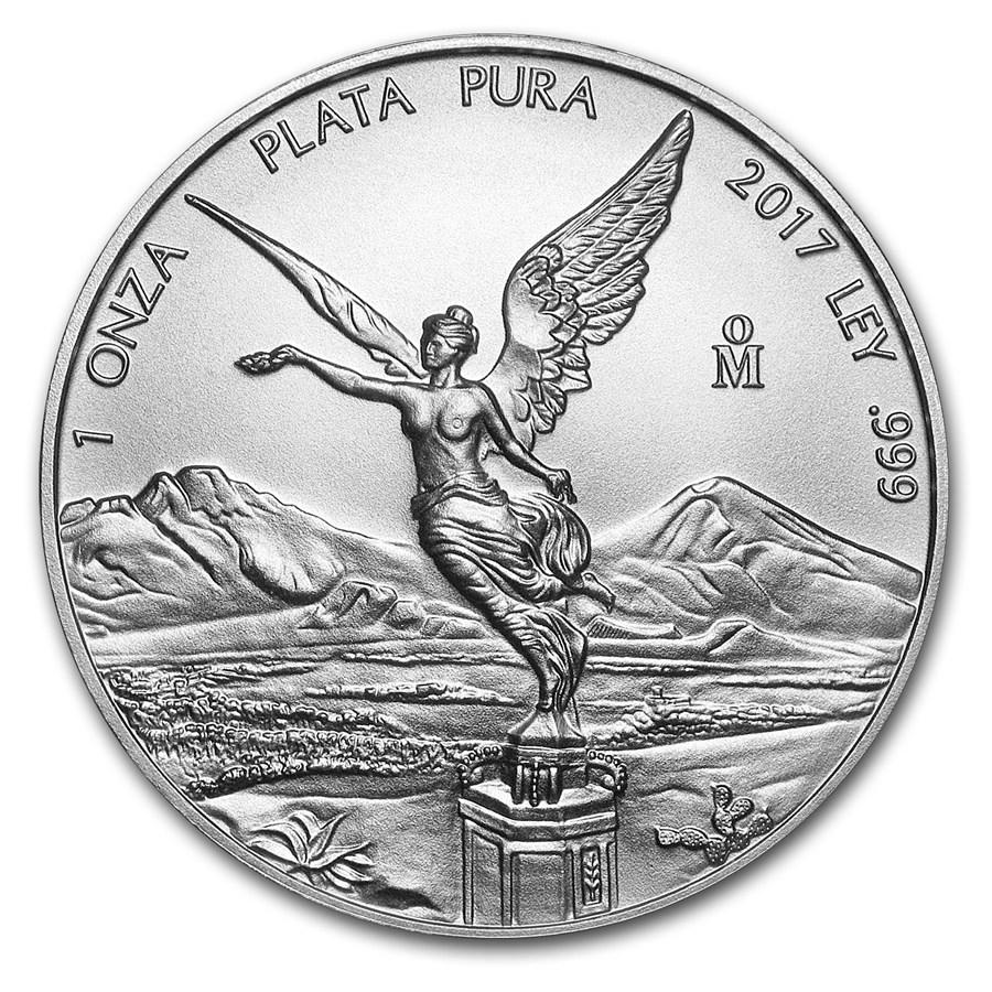 Moneda De Plata Libertad 2017 1 Oz