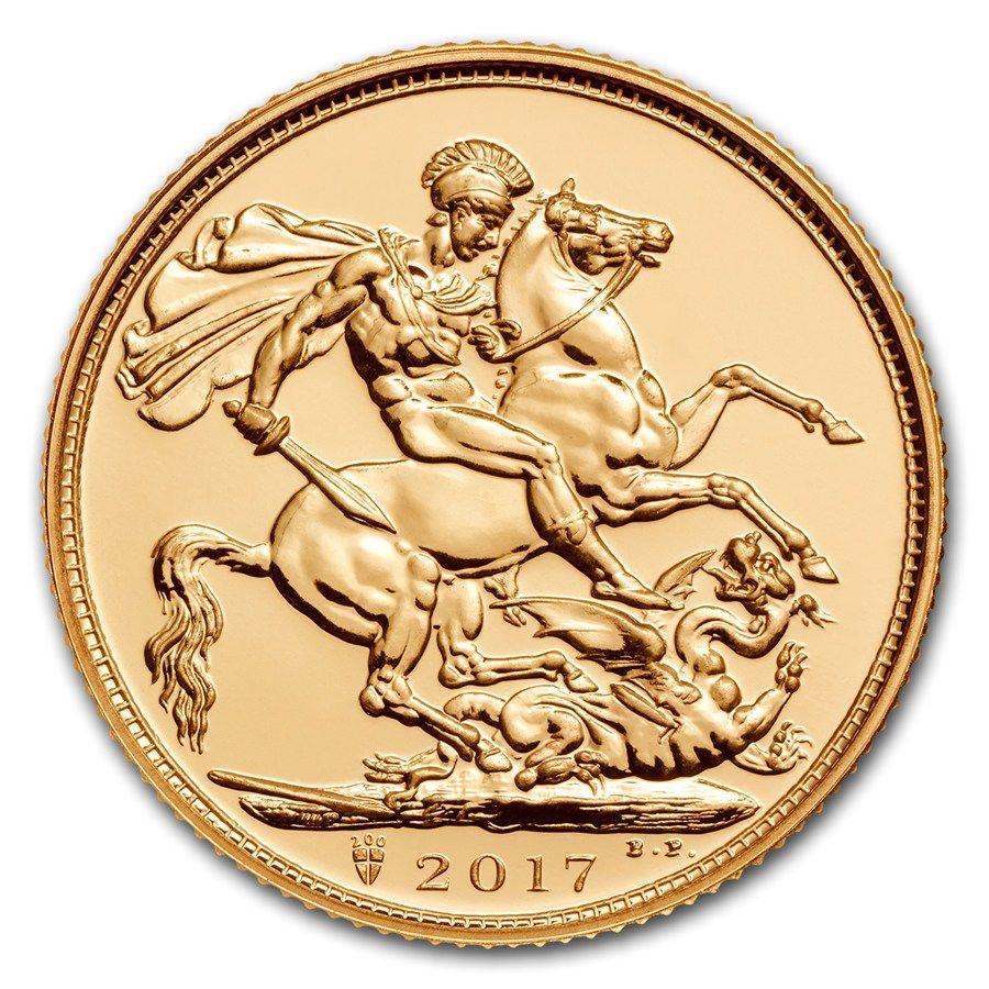 Monedas De Oro Soberano Moneda De Oro Soberano 2017
