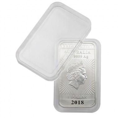 Cápsulas Lindner para monedas rectangulares de 27x47mm