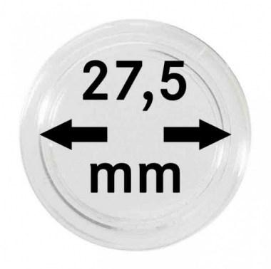 Cápsulas Lindner para monedas de 27,5mm