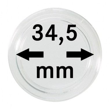 Cápsulas Lindner para monedas de 34,5mm