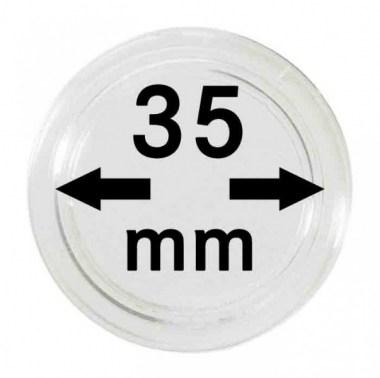 Cápsulas Lindner para monedas de 35mm