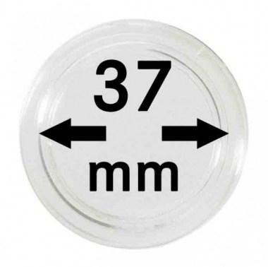 Cápsulas Lindner para monedas de 37mm