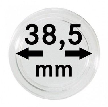 Cápsulas Lindner para monedas de 38,5mm