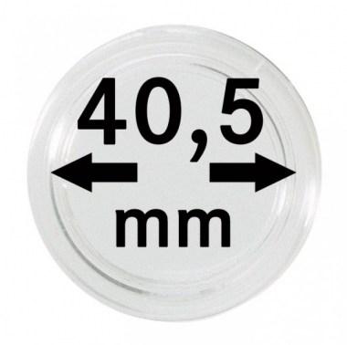 Cápsulas Lindner para monedas de 40,5mm