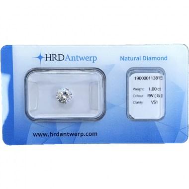 Diamante HRD certificado 1ct G VS1
