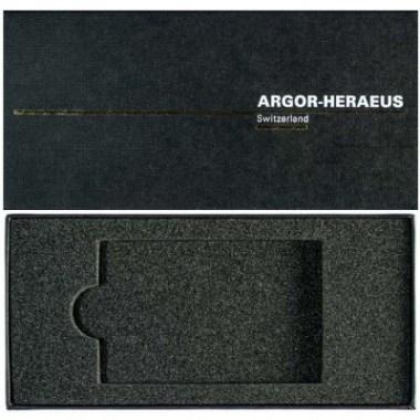 Estuche para lingotes de Oro Argor Heraeus de 2 a 100g