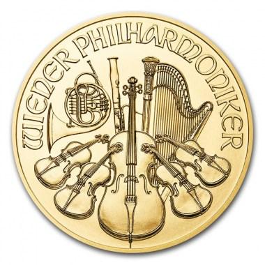 Moneda de Oro Filarmónica
