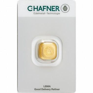 Lingote de Oro C Hafner Casted de 1oz