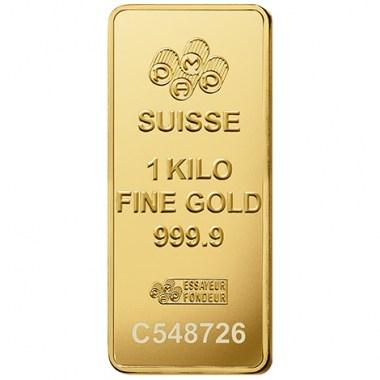 Lingote de Oro PAMP Fortune de 1kg