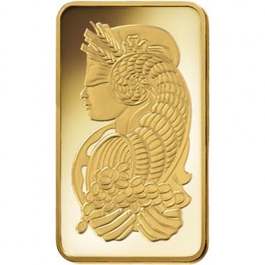 Lingote de Oro PAMP Fortune de 500g