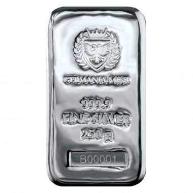 Lingote de Plata Germania Mint de 250g