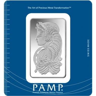Lingote de Plata PAMP Fortune de 100g