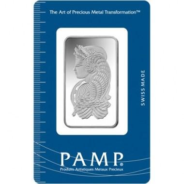 Lingote de Plata PAMP Fortune de 20g