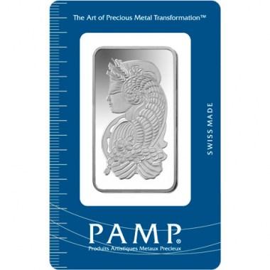 Lingote de Plata PAMP Fortune de 50g