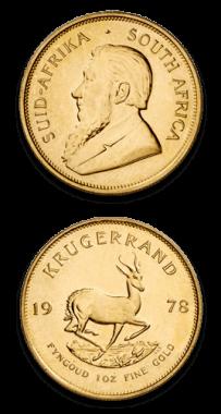 Krugerrand 1 Oz Años Varios