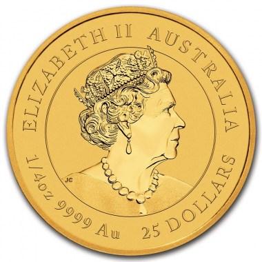 Moneda de Oro Año del Buey de Australia 2021