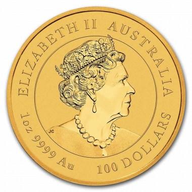 Moneda de Oro Año del Tigre de Australia 2022