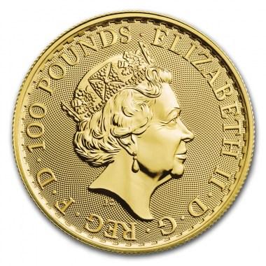 Moneda de Oro Britannia 2020 1 oz