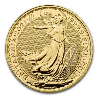 Moneda de Oro Britannia 2021 1 oz