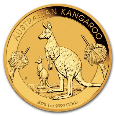 Moneda de Oro Canguro 2020 1 oz