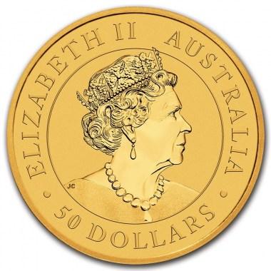 Moneda de Oro Canguro 2021 1/2 oz