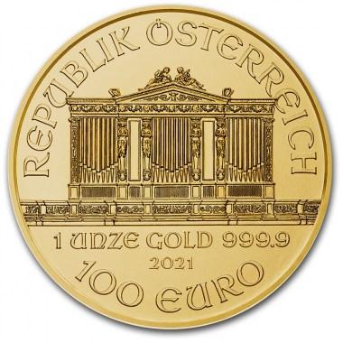 Moneda de Oro Filarmónica 2021 1 oz