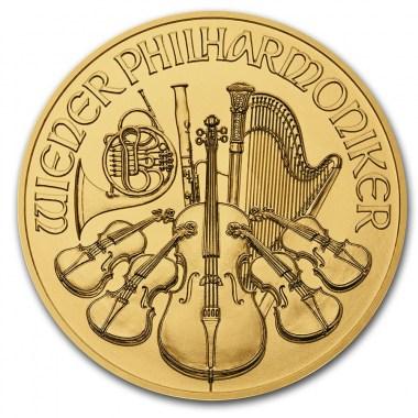 Moneda de Oro Filarmónica 2021 1/4 oz
