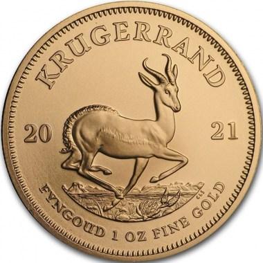 Moneda de Oro Krugerrand 2021 1 oz