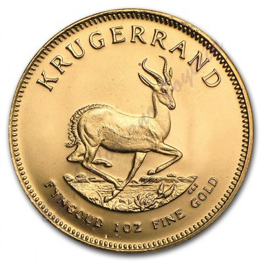 Moneda de Oro Krugerrand 1 Oz Años Varios