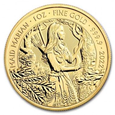 Moneda de Oro Maid Marian 2022 1 oz