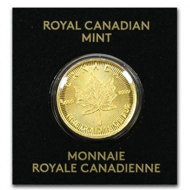 Moneda de Oro MapleGram 1g años varios