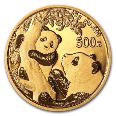 Moneda de Oro Panda 2021 30 g