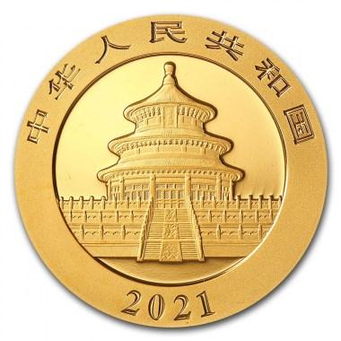 Moneda de Oro Panda 2021 15 g