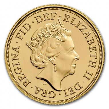 Moneda de Oro Soberano 2018