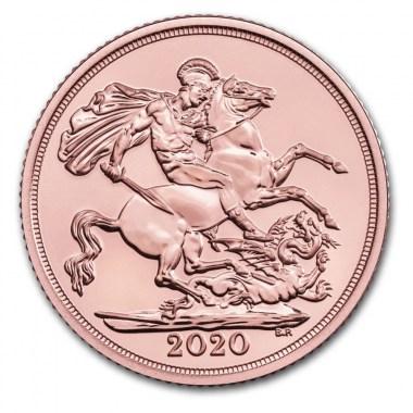 Moneda de Oro Soberano 2020