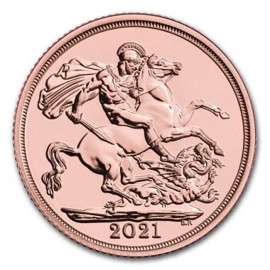 Moneda de Oro Soberano 2021