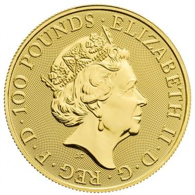 Moneda de Oro Año del Cerdo UK 2019 1 oz