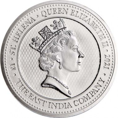Moneda de Plata Ángel de Santa Elena Napoleón 2021 1 oz