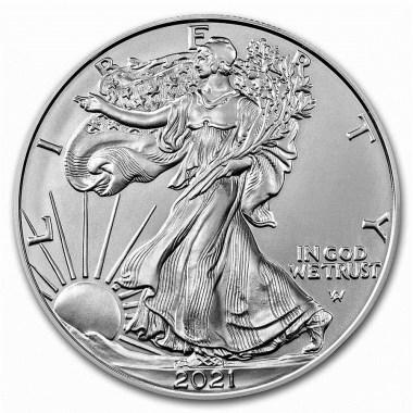 Moneda de Plata American Eagle Tipo 2 2021 1 oz Entrega en Agosto