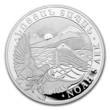 Moneda de Plata Arca de Noe 2021 1/4 oz