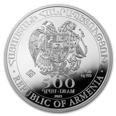 Moneda de Plata Arca de Noe 2021 1 oz